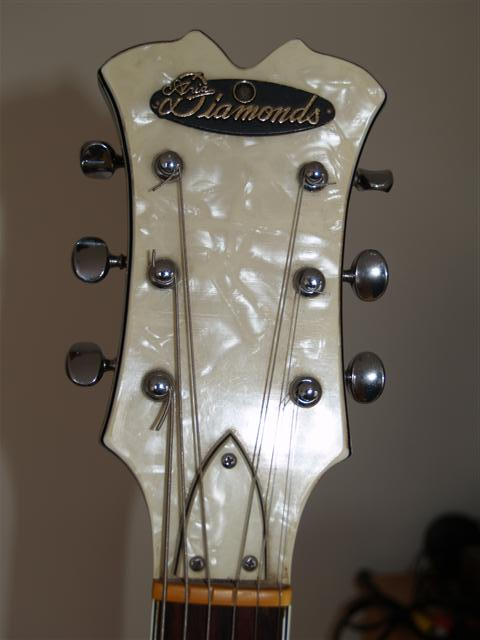 aria guitar headstock